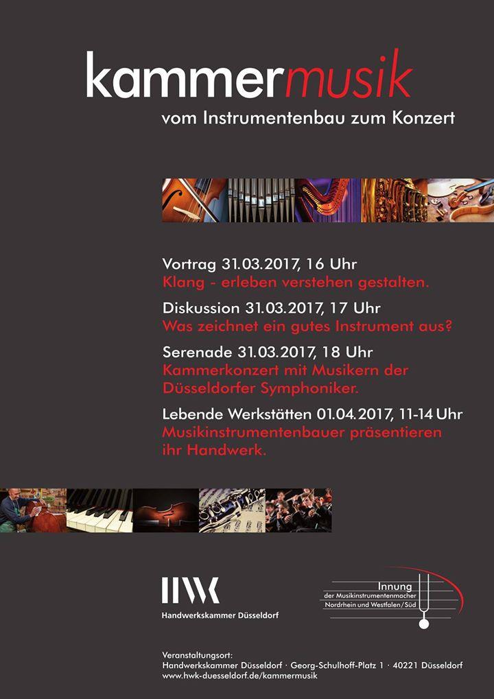 Bild zu Kammermusik in Düsseldorf - vom Instrumentenbau zum Konzert